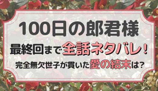 100日の郎君様のネタバレ全話最終回までまとめ!完全無欠世子が貫いた愛の結末は?