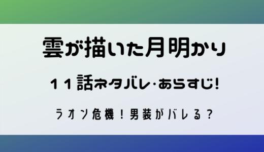 雲が描いた月明かりネタバレ11話!ラオン危機!男装がバレる?!