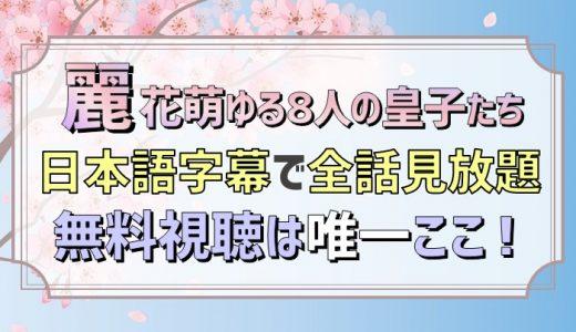麗<レイ>〜花萌ゆる8人の皇子たち〜動画日本語字幕無料視聴は唯一ここ!