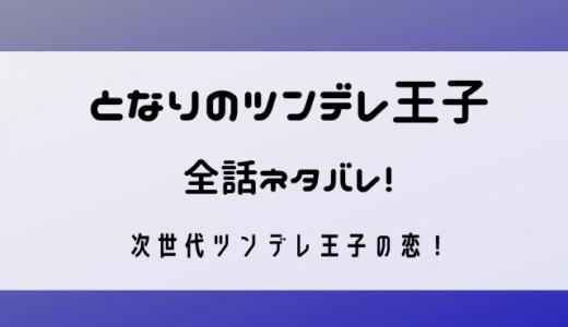 となりのツンデレ王子(我只喜歓你)全話ネタバレ!次世代ツンデレ男子の恋!