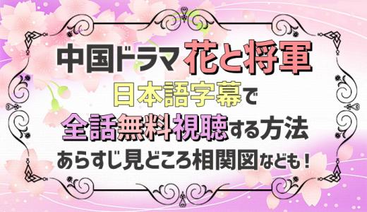 花と将軍動画を日本語字幕で無料視聴!2話以降もタダで見れる!あらすじ相関図なども