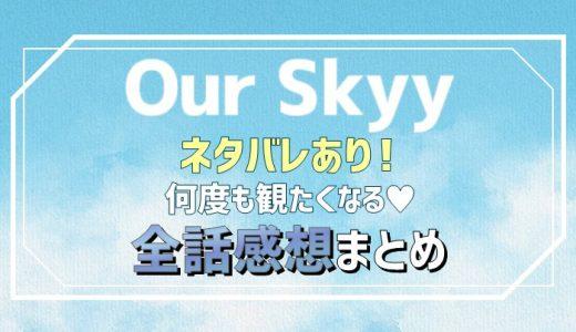 Our Skyy(アワ・スカイ)何度も観たくなる♡ネタバレあり全話口コミ感想まとめ