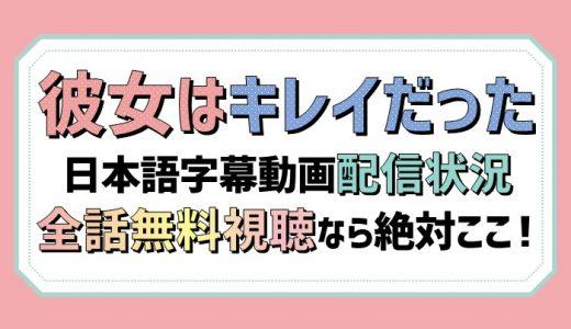 彼女はキレイだった動画を日本語字幕で2話以降も無料視聴【アマプラ/Netflix/U-NEXTなど配信状況一覧】おすすめはどこ?