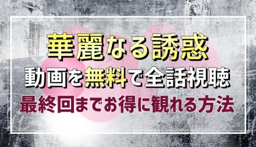華麗なる誘惑【韓国ドラマ】無料動画を全話(1話~最終回)配信をお得に視聴できる方法